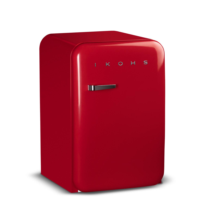 RETRO FRIDGE 83.5 ROT - Kühlschrank
