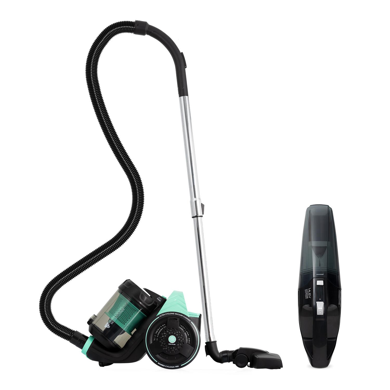 sensor de protecci/ón contra ca/ídas bater/ía de litio de 2600 mAh programable Kealive Robot aspirador 1400pa con mando a distancia y estaci/ón de carga filtro HEPA