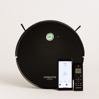 Comprar NETBOT S15 2.0 - Robot Aspirador Friegasuelos NUEVA APP - 1500 Pa