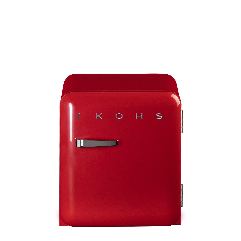 Frigorifero Americano Anni 50 retro fridge 50 rosso - frigorifero - ikohs