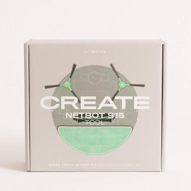Acquista SET Ricambi per NETBOT S15 2.0 - Robot aspirapolvere intelligente