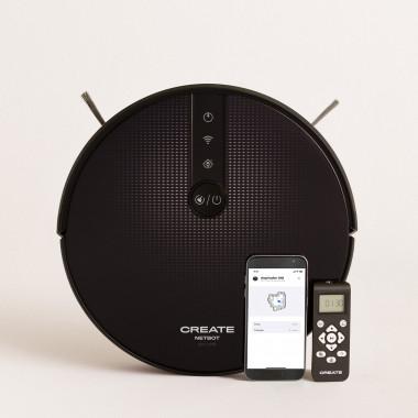 Acquista NETBOT S18 - Robot Aspirapolvere Lavapavimenti - 1800 Pa