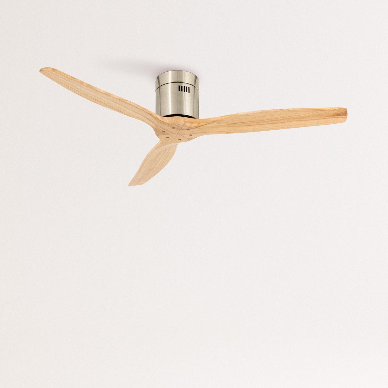 Ventilatore a soffitto 40W DC con Luce e funzione inverno-estate IKOHS WINDLIGHT WHITE